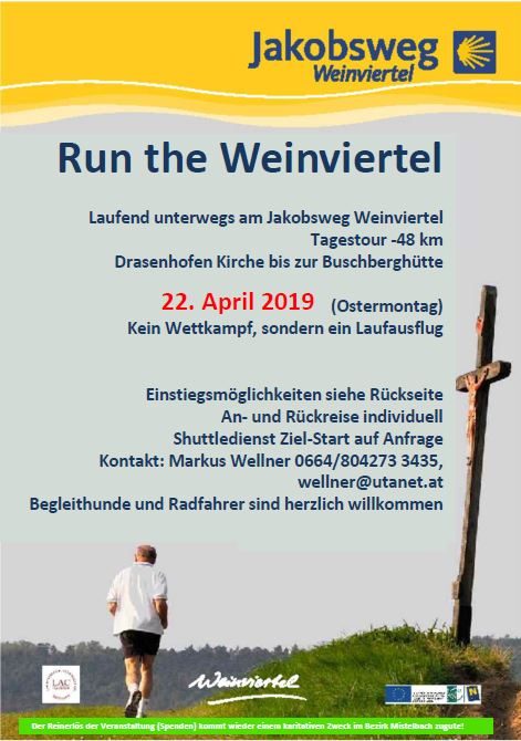 Run the Weinviertel – Jakobsweglauf 2019